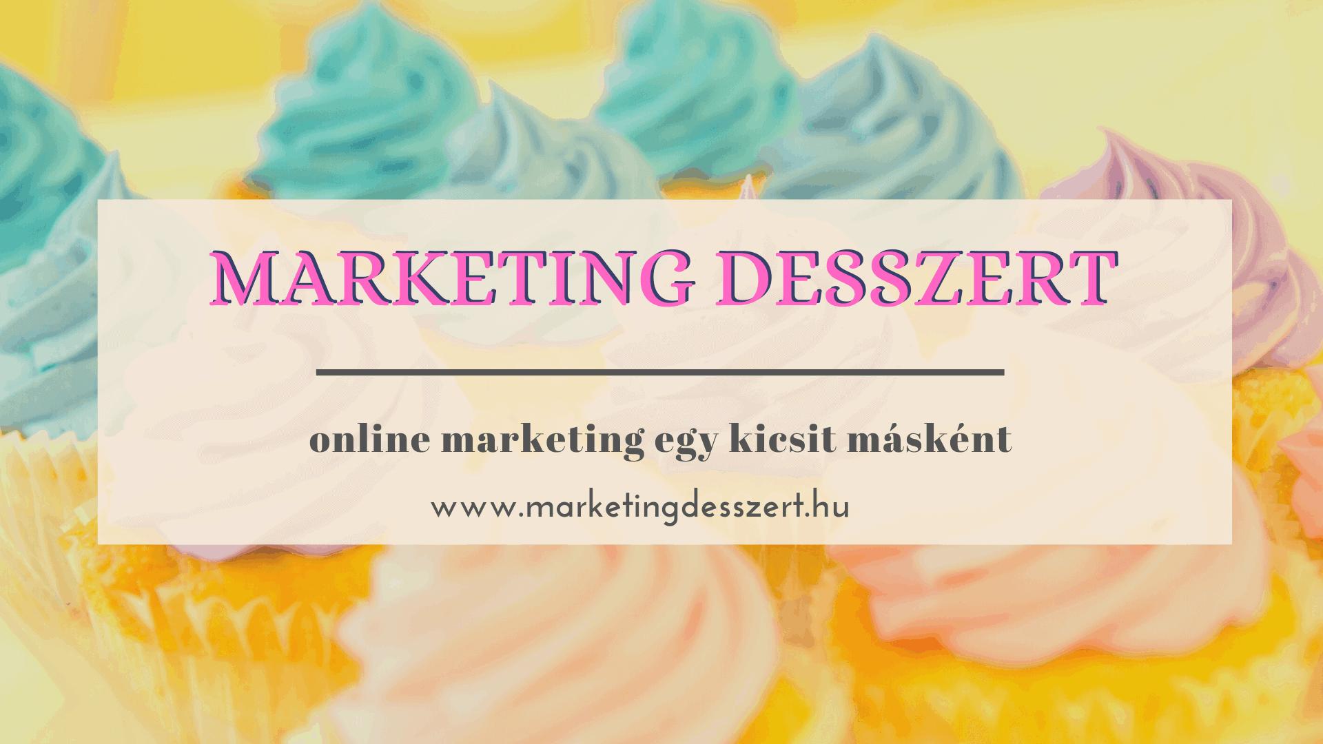 marketing desszert